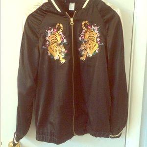 Satin Tiger Jacket